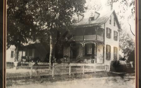 Photograph of Hambleton Inn prior to 1900