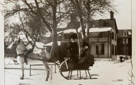 Circa 1905 Winter