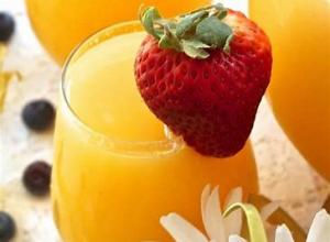 Two Morning Breakfast Concoction Drinks